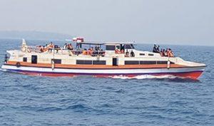 Boat Fery ke Pulau Tidung