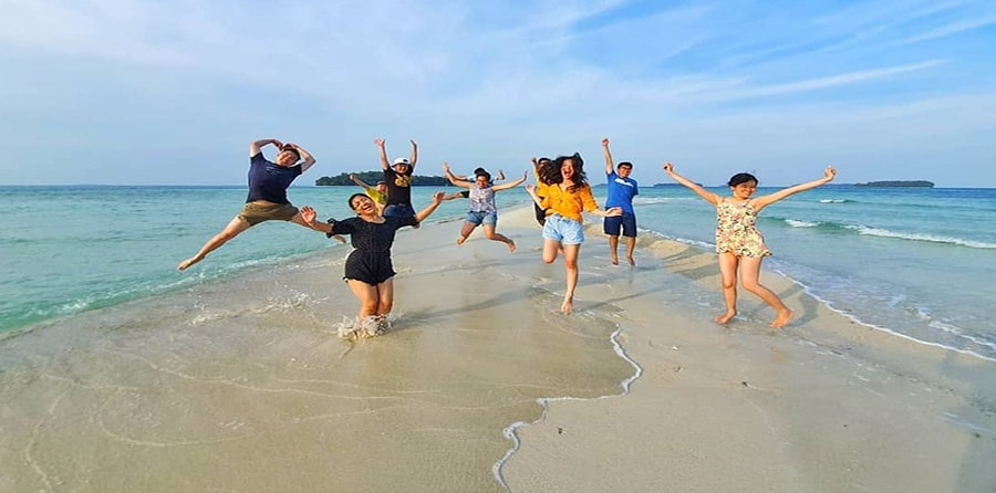 Wisata murah Pulau Seribu