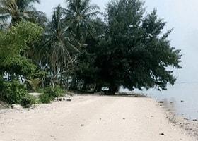 pantai barat pulau tidung