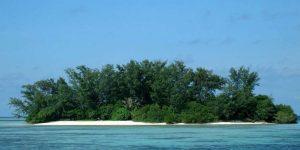 pantai pulau macan