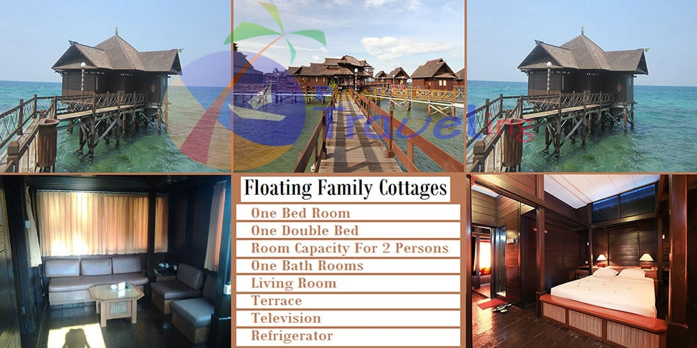 pulau ayer Cottage Floating Family