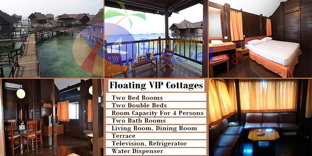 pulau ayer Cottage FloatingVIP