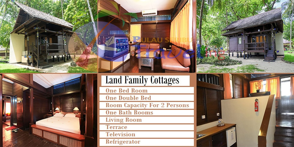 pulau ayer Cottage Land Family
