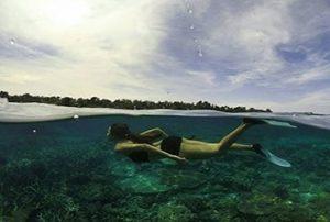 snorkling pulau bira