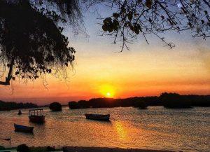 sunrise pulau pari