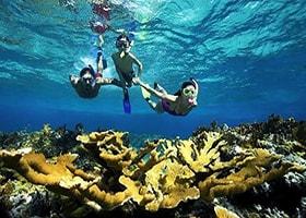 wahana air pulau tidung