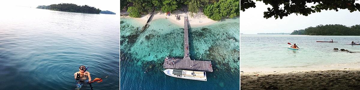 wisata pulau genteng kecil